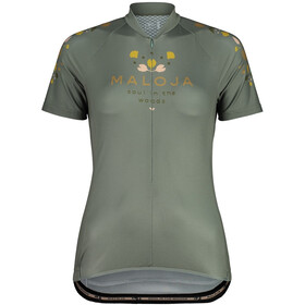 Maloja RubinieM. 1/2 Maglietta da Ciclismo a Maniche Corte Donna, verde